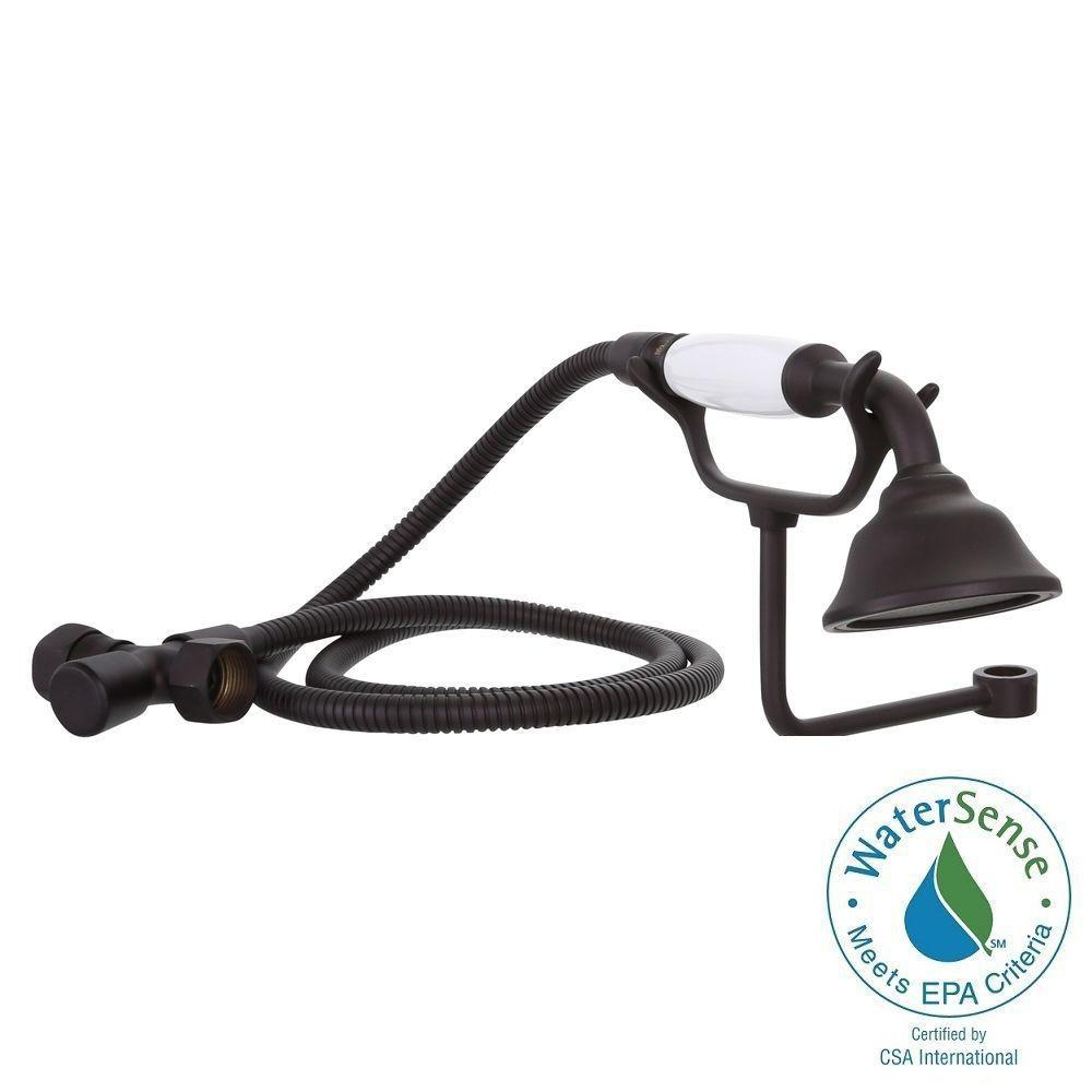 Elizabethan Classics 1-Spray Hand Shower with Cradle in Oil Rubbed Bronze