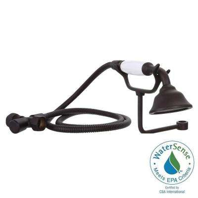 1-Spray Hand Shower with Cradle in Oil Rubbed Bronze