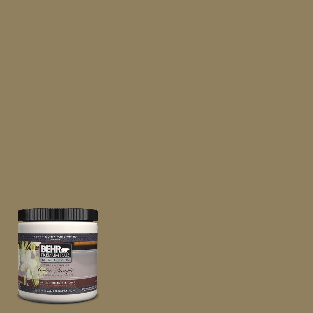 BEHR Premium Plus Ultra 8 oz. #UL190-21 Gingko Tree Interior/Exterior Paint Sample