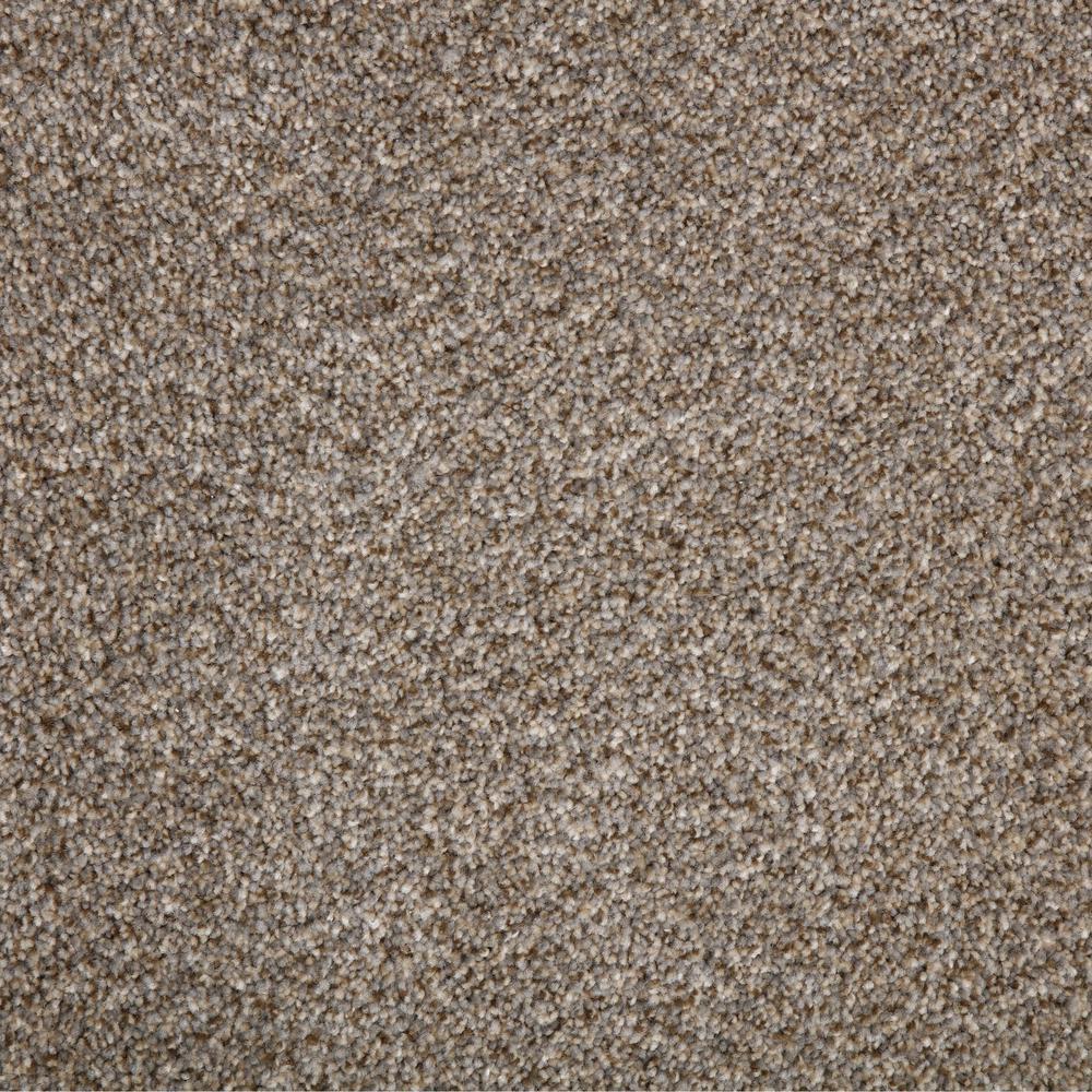 Cobblestone I - Color Post Alley Texture 12 ft. Carpet