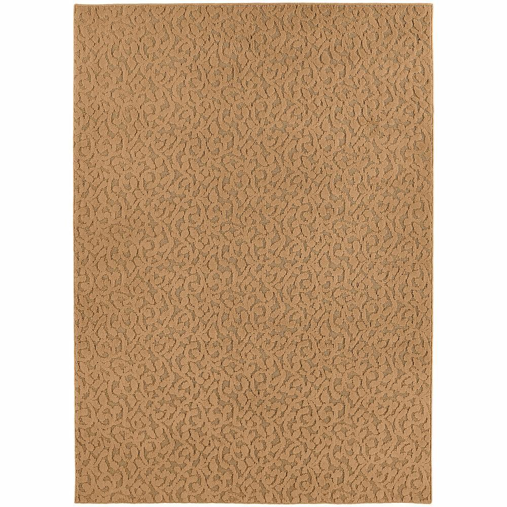 Garland Rug Ivy Beige 9 Ft X 12 Ft Area Rug Cl 01 0n 0912 02 The Home Depot