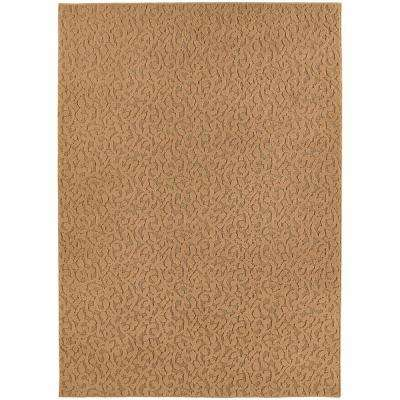 Ivy Beige 9 ft. x 12 ft. Area Rug