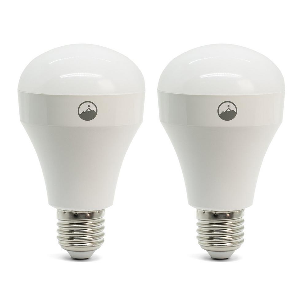 Home Wi-Fi LED Light Bulb (2-Pack)