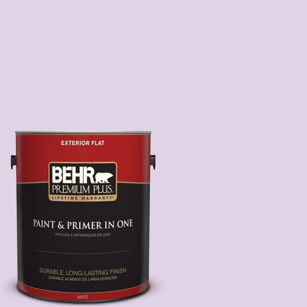 BEHR Premium Plus 1-gal. #M570-2 Monologue Flat Exterior Paint