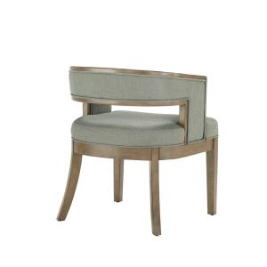 Marvelous Dorel Living Brunswick Sage Gray Walnut Rounded Back Accent Pdpeps Interior Chair Design Pdpepsorg