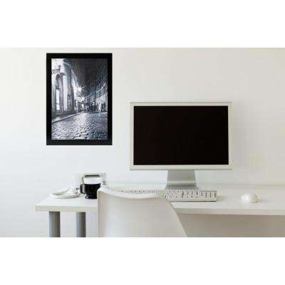 Langford 12 in. x 18 in. Wood Black Poster Frame Glass