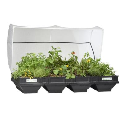 Raised Garden Bed Kit - Large 78.7 in. x 39.4 in. (2 m x 1 m) Container with Protective Cover, Self Watering