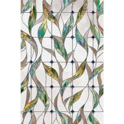 24 in. x 36 in. Veranda Decorative Window Film