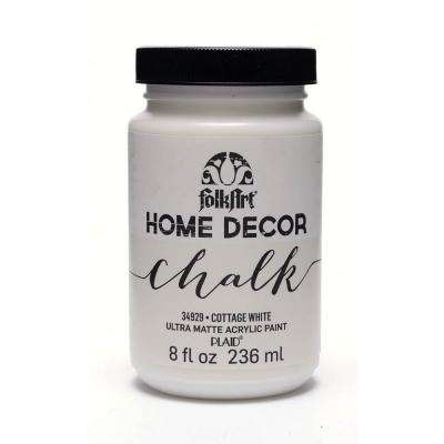 8 oz. Cottage White Chalk Finish Paint