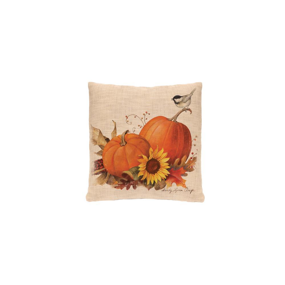 Harvest Pumpkin Natural Harvest Decorative Pillow