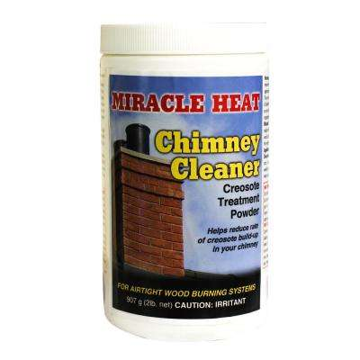 Miracle Heat 2 lb. Chimney Cleaner Creosote Treatment Powder