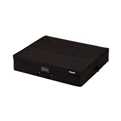 Storit Medium Black Polyester Underbed Storage Box 1-Pack