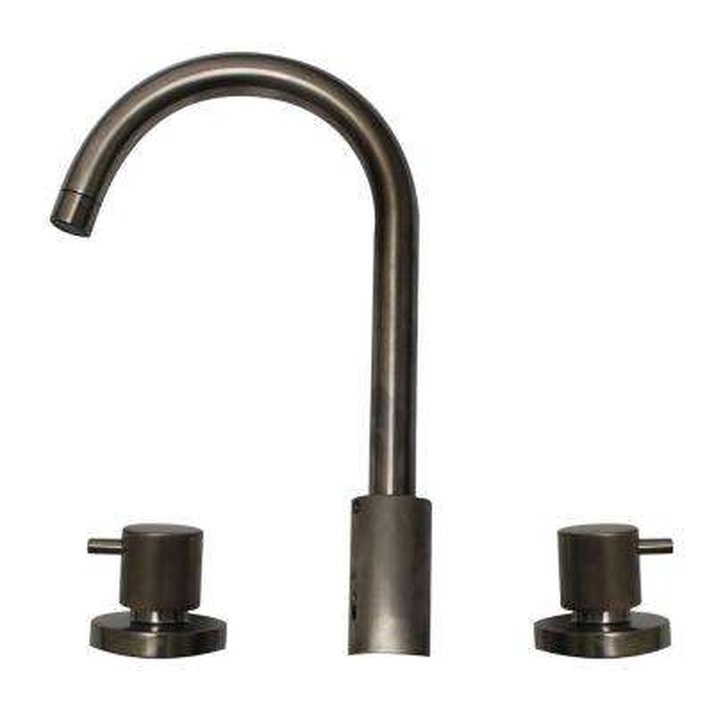 Luxe 8 in. Widespread 2-Handle Bathroom Faucet in Brushed Nickel
