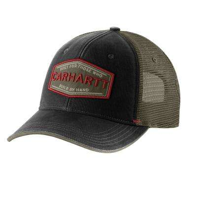 Men's OFA Black Cotton Silvermine Cap Hat Liner