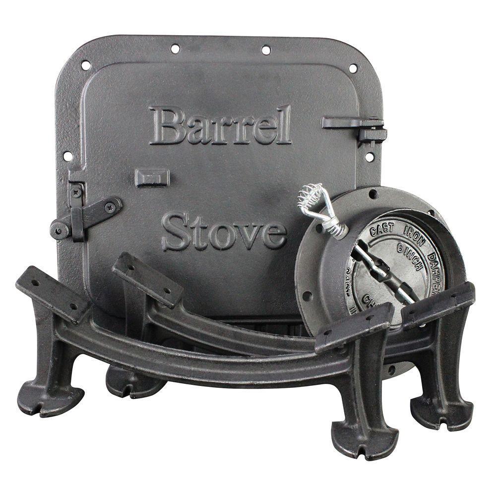 Us Stove Barrel Stove Kit Bsk1000 The Home Depot