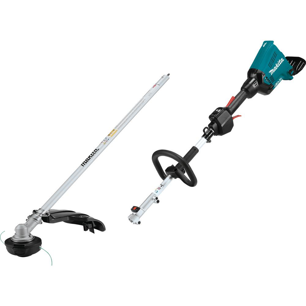 Makita 18-Volt x 2 (36-Volt) LXT Lithium-Ion Brushless Cordless Couple Shaft Power Head W/String Trimmer Attachment (Tool Only)