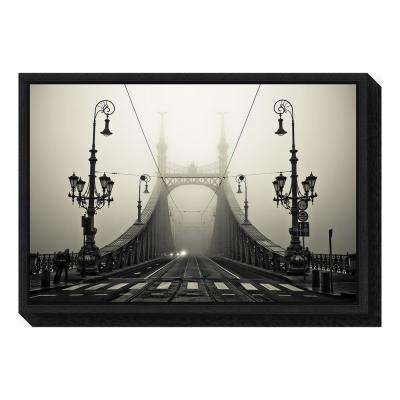 """The Bridge"" by Arminmarten Framed Canvas Wall Art"