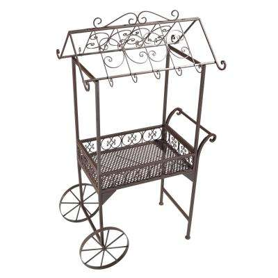 16 In Outdoor Bar Carts Outdoor Bar Furniture The Home Depot