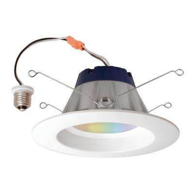 65-Watt Recessed Downlight Adjustable Color LED Kit
