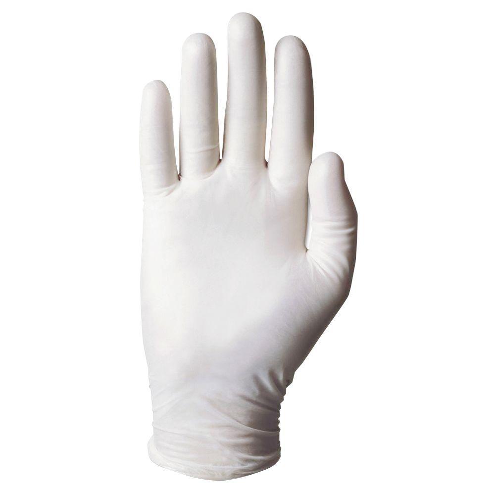 Dura-Touch Disposable PVC Gloves, Medium (100-Count)
