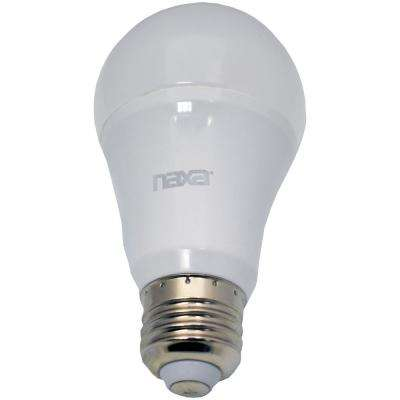 8-Watt Equivalent A19 Wi-Fi Smart LED Light Bulb in White (1-Bulb)