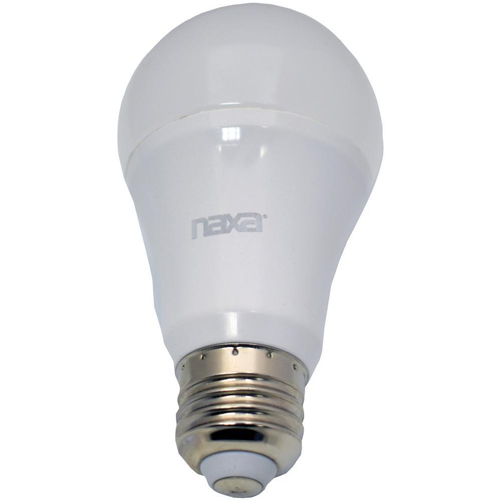 8-Watt Equivalent A19 Wi-Fi Smart LED Light Bulb in White (1-Bulb)