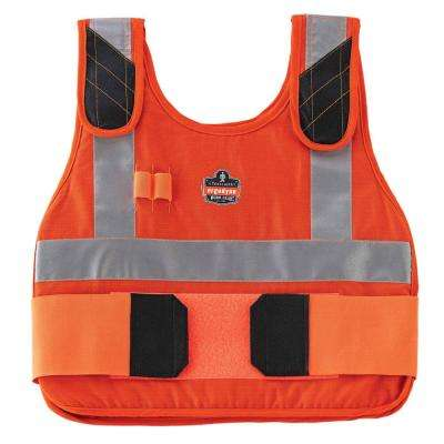 Chill-Its S/M Orange Phase Change Premium Cooling Vest Hi Vis