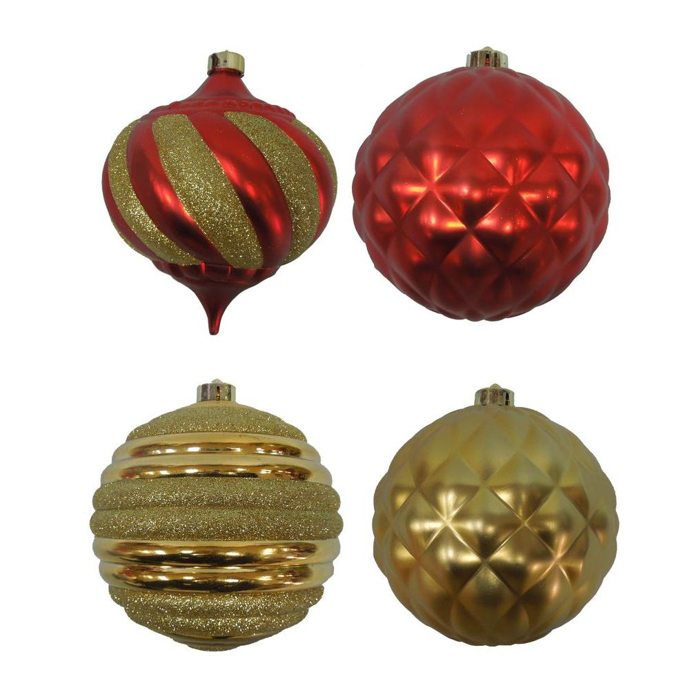 null 150 mm Assorted Ornament (4-Pack)