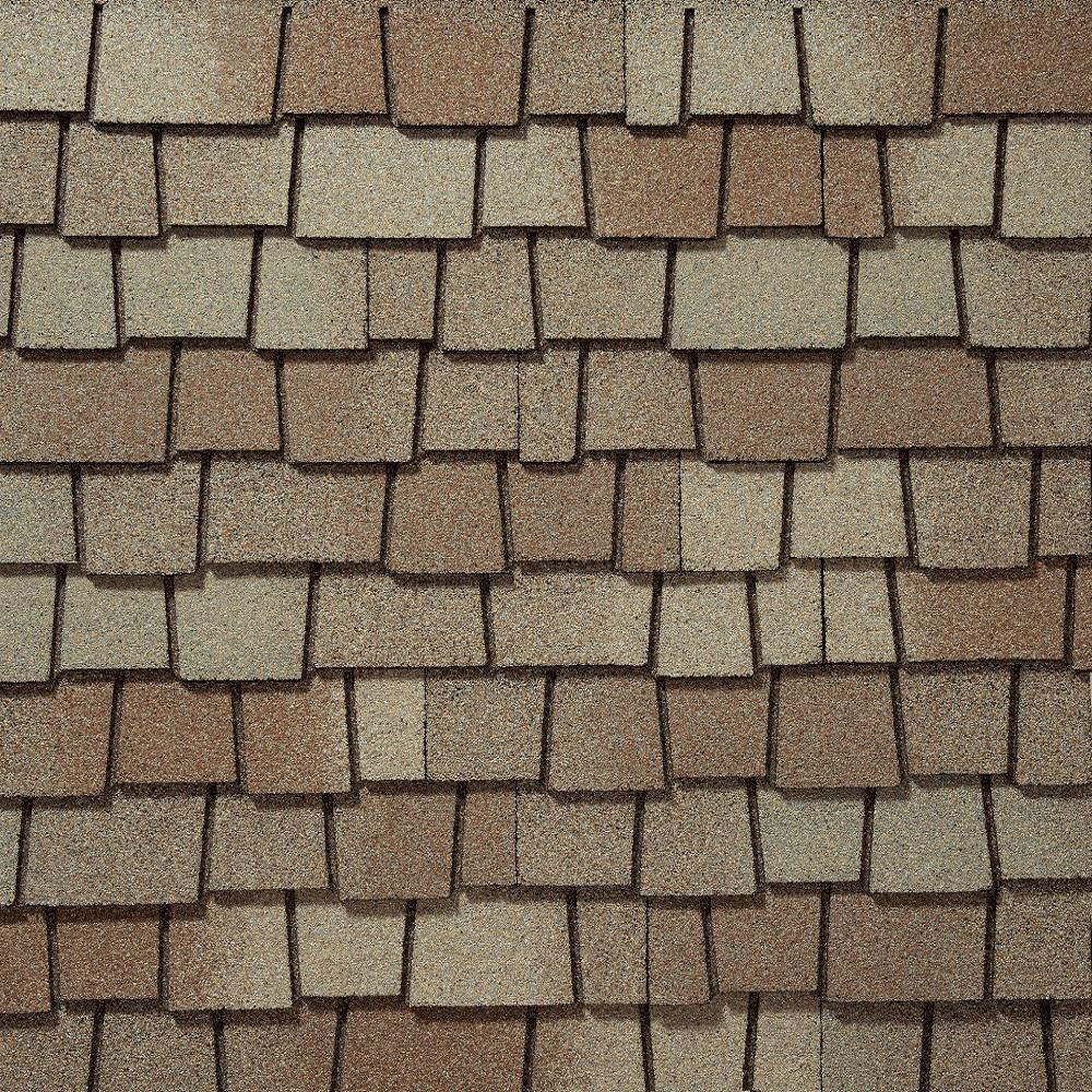 GAF Glenwood Golden Prairie Ultra Premium Lifetime Architectural Shingles (11.1 sq. ft. per Bundle)