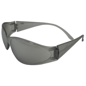 ERB Boas Original Eye Protection Gray Temple/Frame and Silver Mirror Lens by ERB