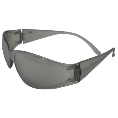 3f7a0c56d59c Boas Original Eye Protection Gray Temple Frame and Silver Mirror Lens