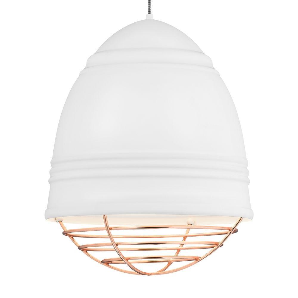 Loft Grande 3-Light White LED Line-Voltage Pendant