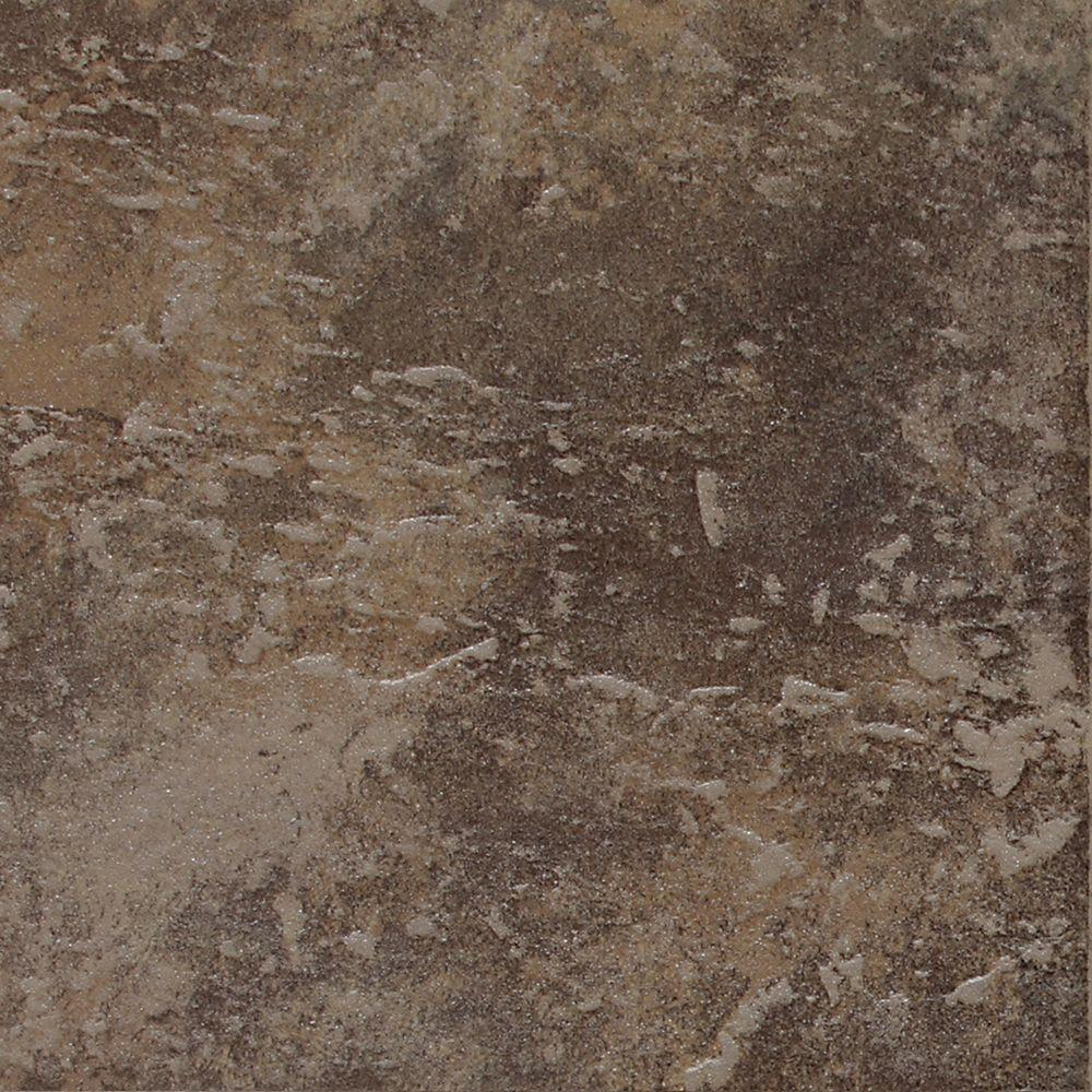 Daltile continental slate moroccan brown 12 in x 12 in Moroccan ceramic floor tile