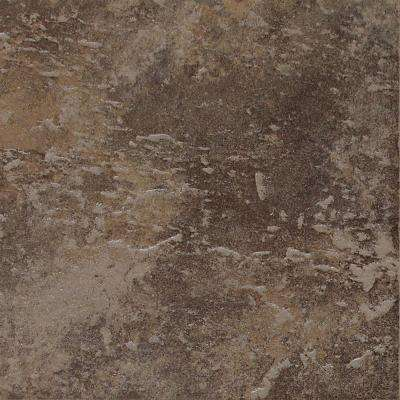 Continental Slate Moroccan Brown 12 in. x 12 in. Porcelain Floor and Wall Tile (15 sq. ft. / case)