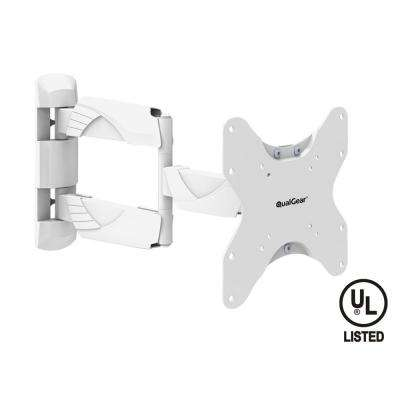 Premium Quality Contemporary Style Ultra Low-Profile Full-Motion Wall Mount for 23 in. - 42 in. TVs [UL Listed]