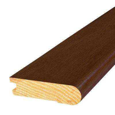 Oak Saddle 3 in. Wide x 84 in. Length Stair Nose Molding