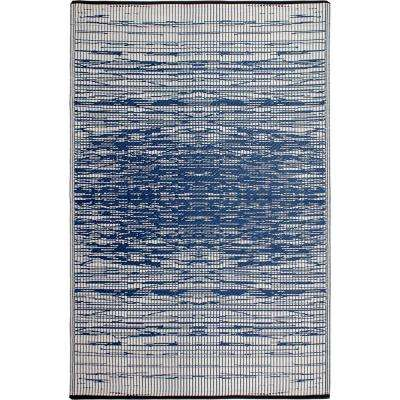 Brooklyn Blue Indoor/Outdoor 3 ft. x 5 ft. Area Rug