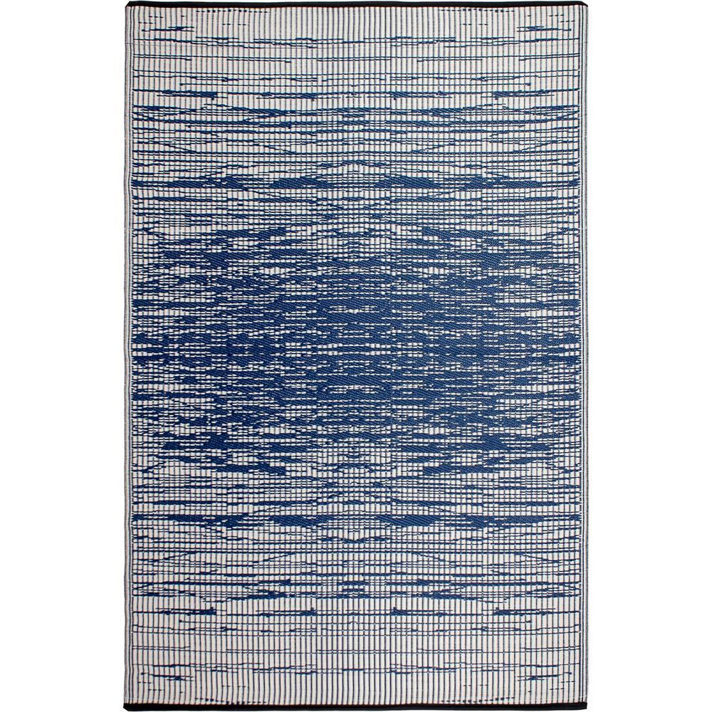 Brooklyn Blue Indoor/Outdoor 5 ft. x 8 ft. Area Rug