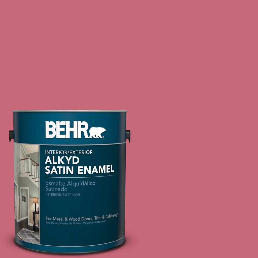 BEHR Premium Plus Ultra 1 gal. #P140-5 Lovebirds Satin Enamel ...