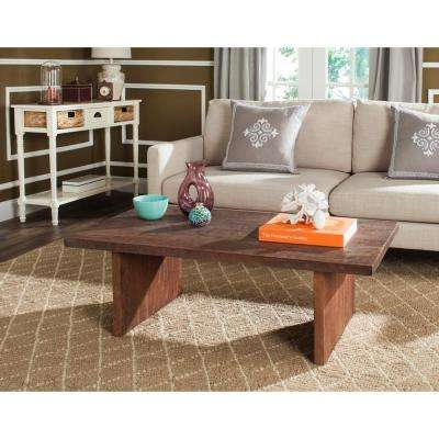 Senjo Rouge Brown Coffee Table
