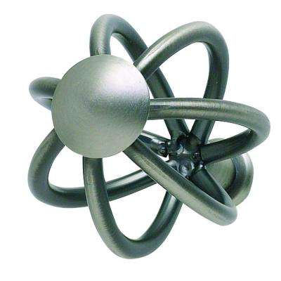 Twisted Wire Collection 1-1/2 in. Pewter Cabinet Knob
