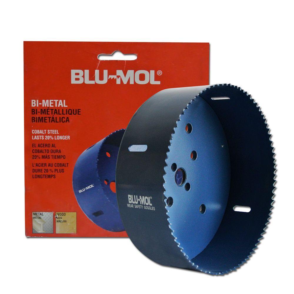 BLU-MOL 6 inch Bi-Metal Hole Saw by BLU-MOL