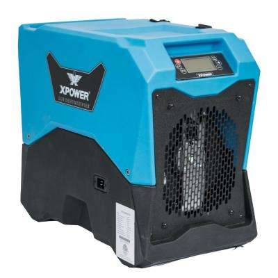ENERGY STAR 135-Pint LGR Commercial Dehumidifier with Auto Purge Pump for Water Damage Restoration, Mold, Mildew