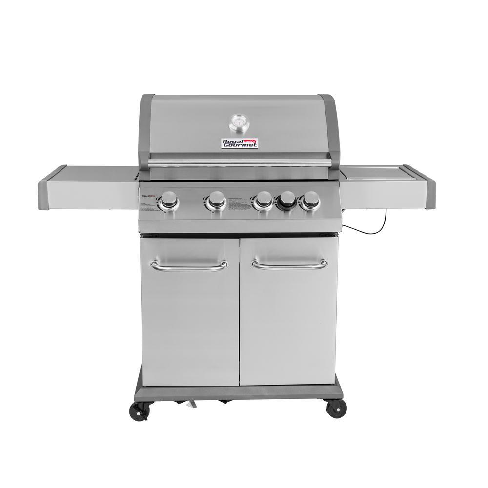 Royal gourmet luxury burner propane gas grill in