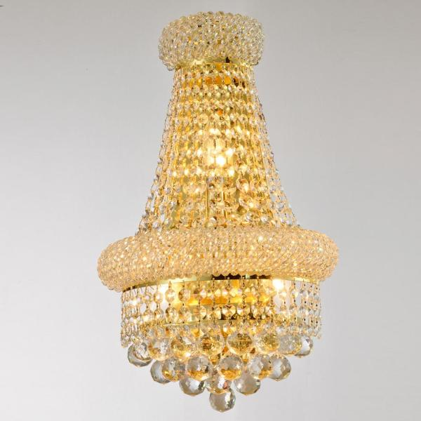 Crystal Wall Sconce Light
