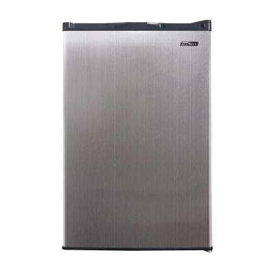 3 cu. ft. Manual Defrost Upright Freezer in Stainless Steel