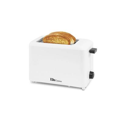 2-Slice White Toaster with Cool-Touch Exterior