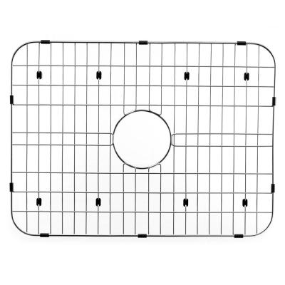 Wirecraft 17.13 in. x 23.44 in. Bottom Grid for Kitchen Sinks in Stainless Steel