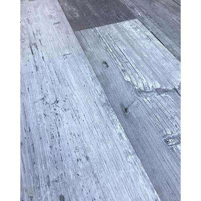 Colors Floor and Wall DIY Mambo Wood Aged 6 in. x 36 in. Painted Style Luxury Vinyl Plank (30 sq. ft. / case)