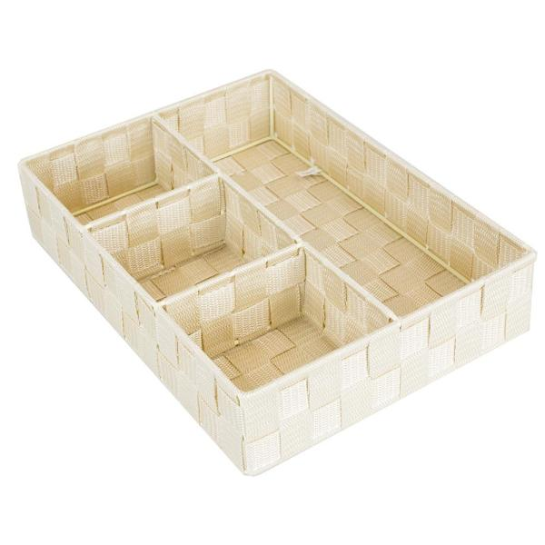 Home Basics Ivory Decorative Tray PB45371